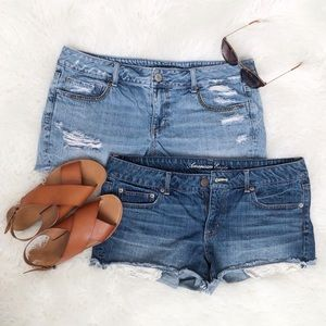 Bundle of two American Eagle Shorts Size 14